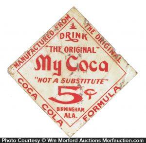 My Coca Coca Cola Formula Sign