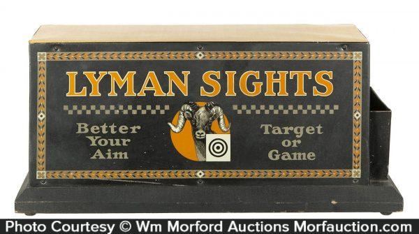 Lyman Sights Gun Display