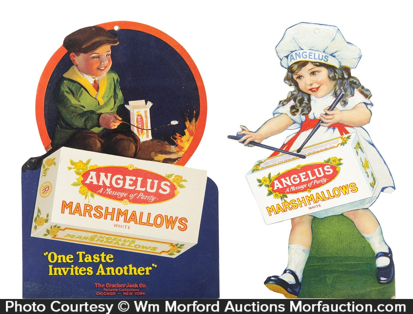 Angelus Marshmallows Signs