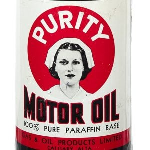 Purity Motor Oil Can