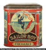 Sailor Boy Cocoanut Tin