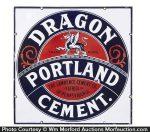 Dragon Portland Cement Sign