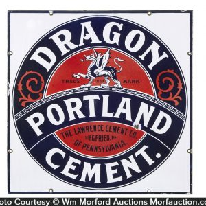 Dragon Portland Cement Sign