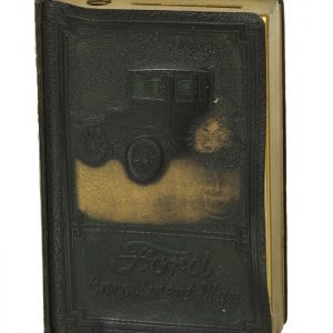 Ford Book Shaped Bank And Catalog