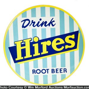 Drink Hires Root Beer Sign