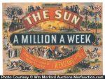 The Sun Newspaper Sign