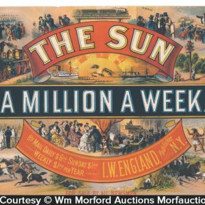 The Sun Newspaper Sign