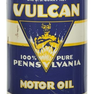 Vulcan Motor Oil Can