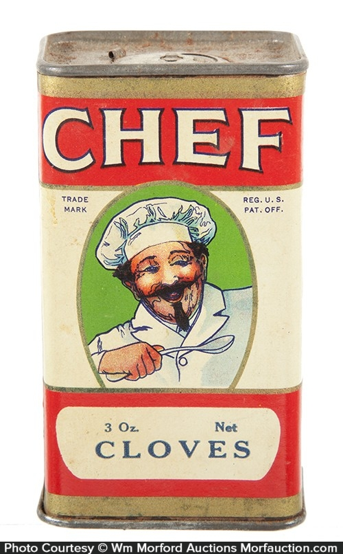 Chef Spice Tin