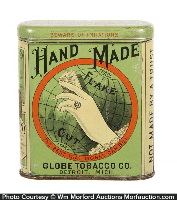 Hand Made Tobacco Tin