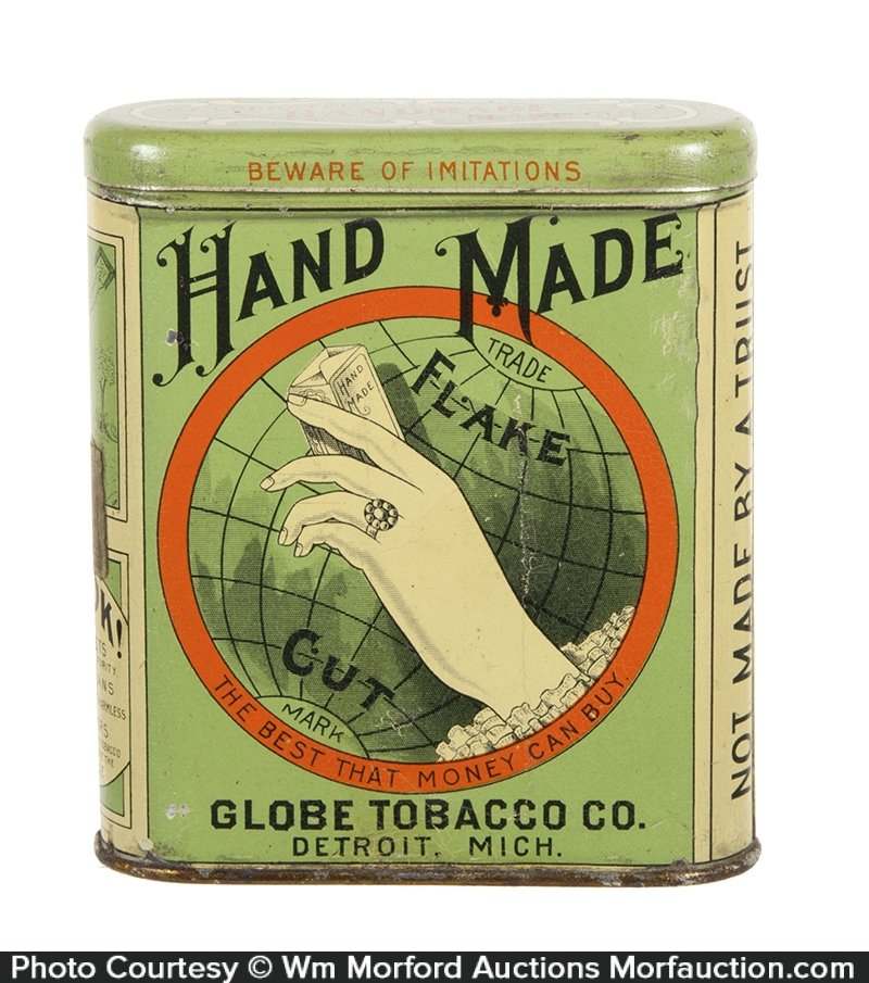 Hand Made Tobacco Tin