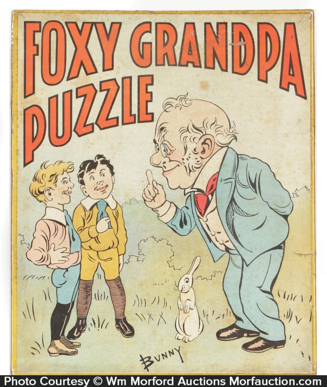 Foxy Grandpa Puzzle