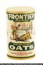 Frontier Oats Box