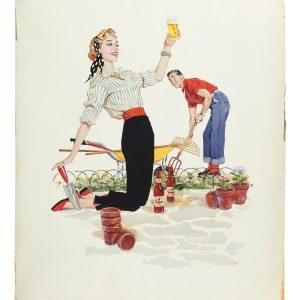 Topper Beer Original Artwork