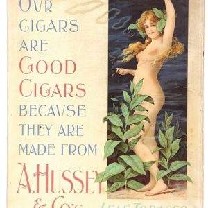 Hussey Tobacco Sign