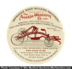 Austin-Western Road Machinery Pocket Mirror