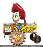 Milton Berle Wind-Up Toy