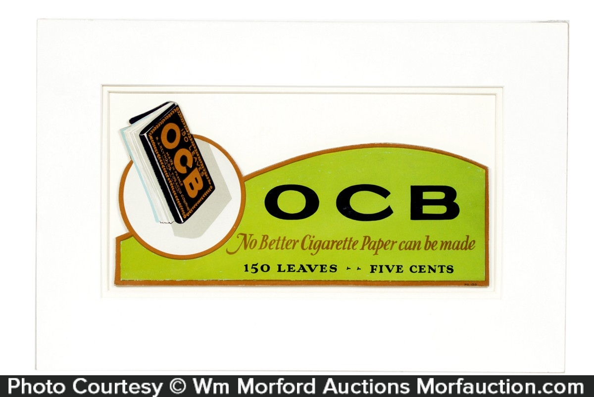 OCB Rolling Papers Sign