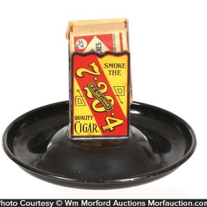 7-20-4 Cigar Match Holder