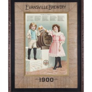 Evansville Brewery Sign