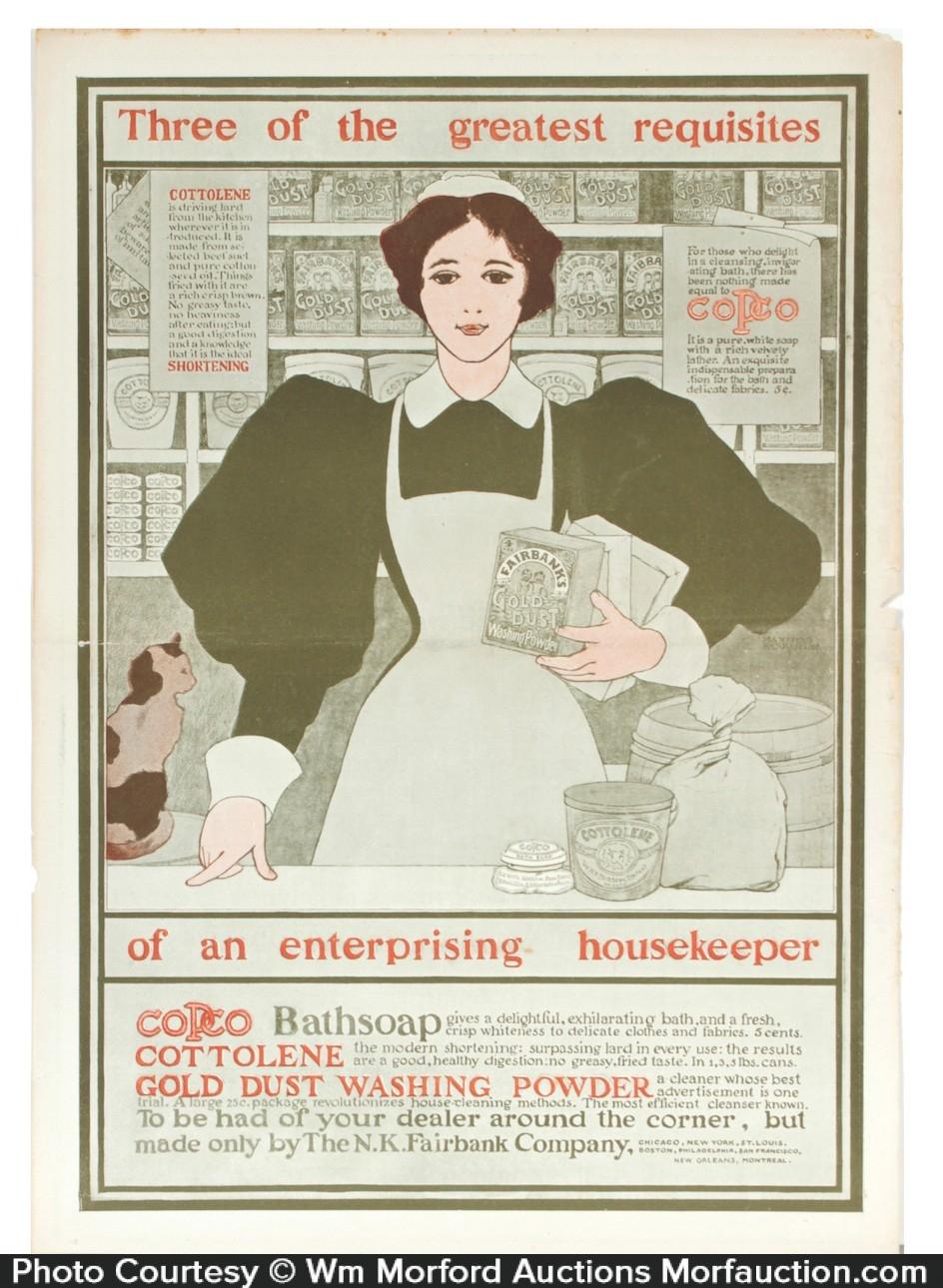 Harper's Bazar Fairbank's Ad