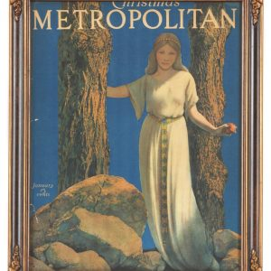 Metropolitan Girl w/ Apple Parrish Illustration