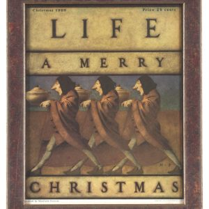 Life Magazine Parrish A Merry Christmas
