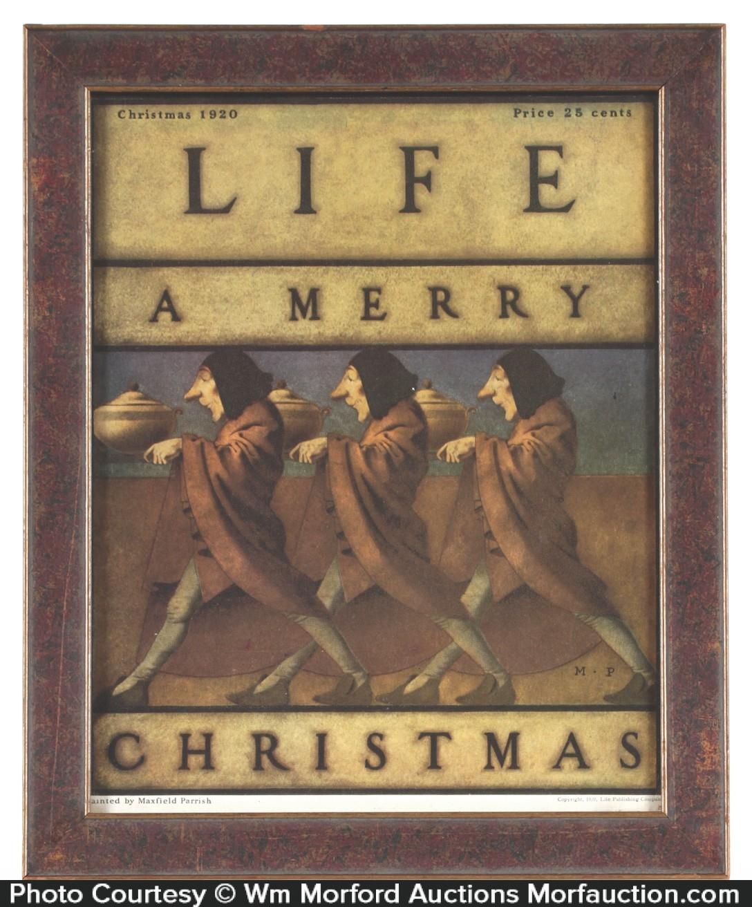 Life Magazine Parrish A Merry Christmas