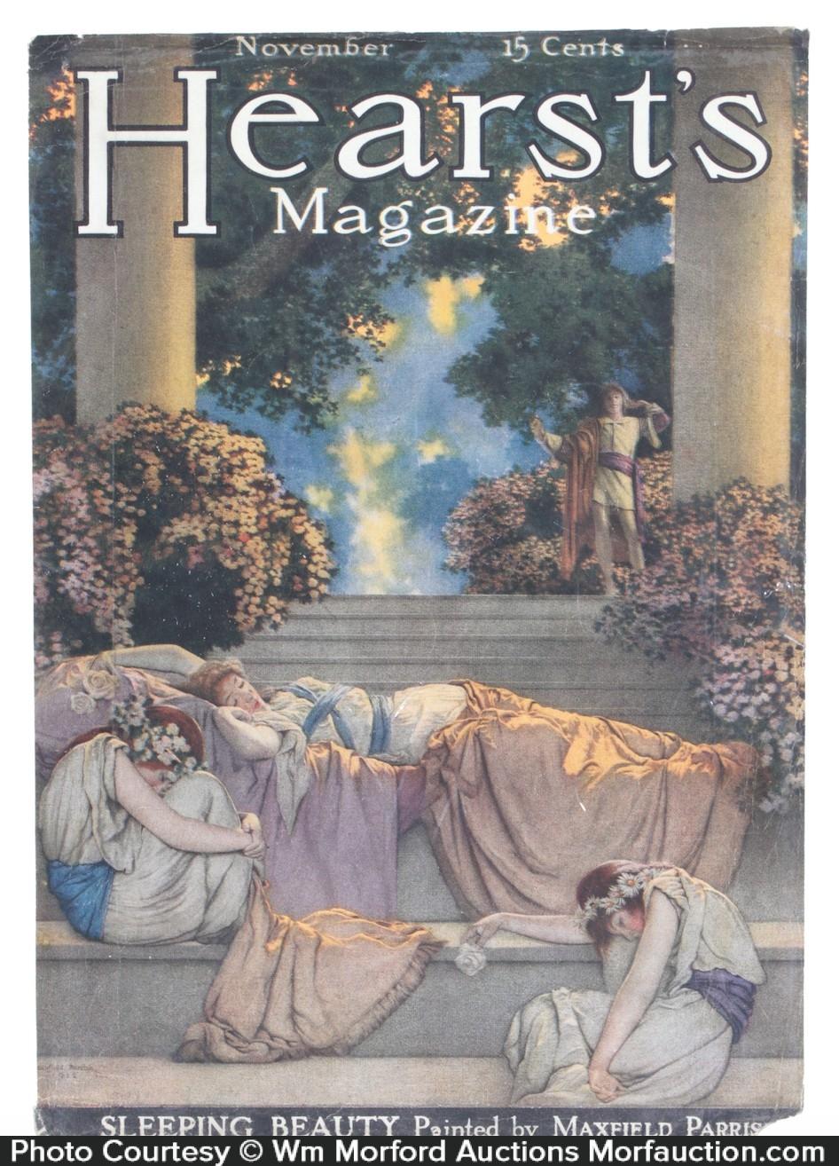 Hearst's Magazine Sleeping Beauty Illustration