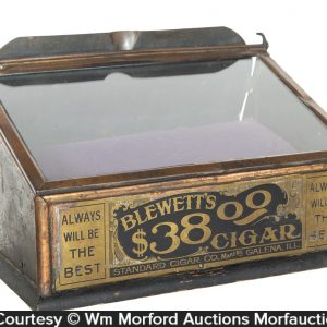 Blewett's Cigar Display Case