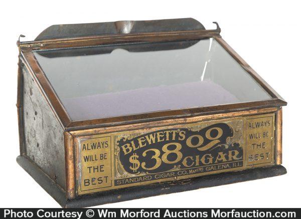 Blewett's Cigar Display Case