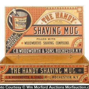 Shaving Mug Soap Box