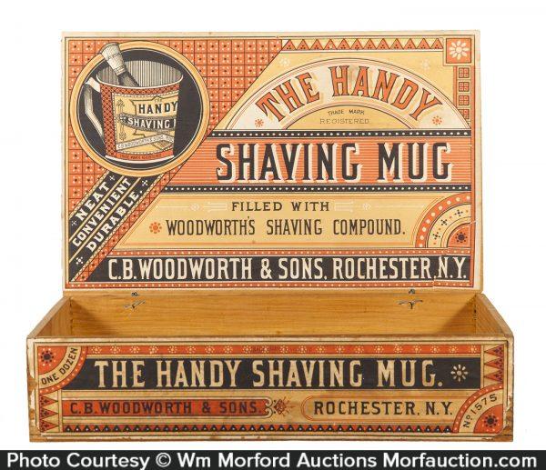 Shaving Mug Soap Box