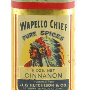 Wapello Chief Spice Tin