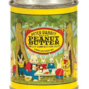 Peter Rabbit Peanut Butter Tin