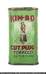 Kim-Bo Cardboard Tobacco Tin