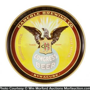 Haberle Congress Beer Tray