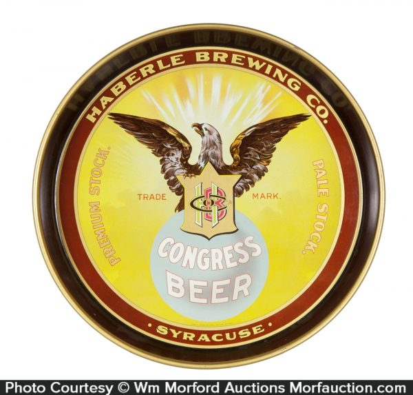 Haberle Congress Beer Tray