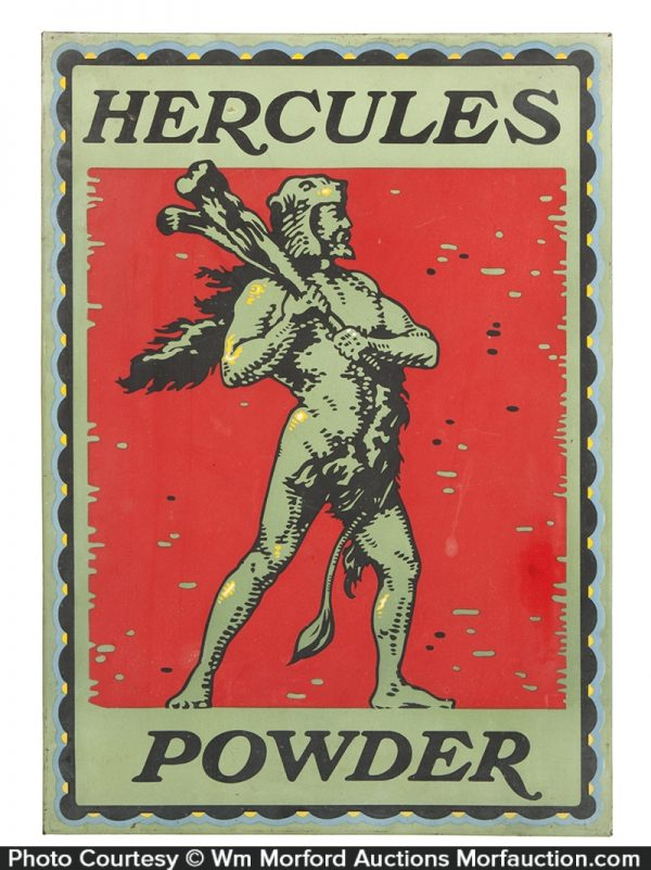 Hercules Gunpowder Sign
