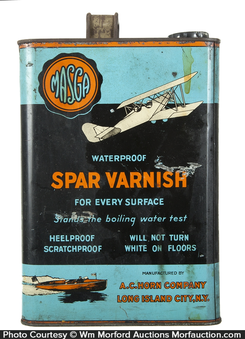 Masga Spar Varnish Tin