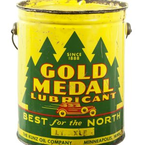 Gold Medal Lubricant Can