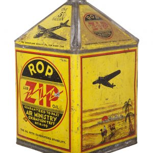 R O P Zip Oil Can