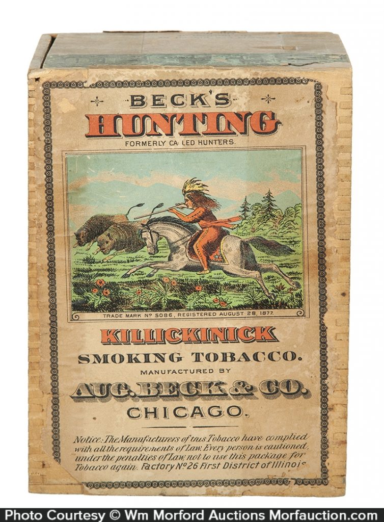 Beck's Hunting Tobacco Box