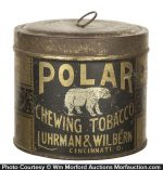 Polar Chewing Tobacco Can