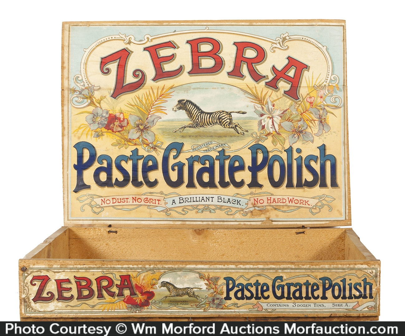 Zebra Paste Grate Polish Box