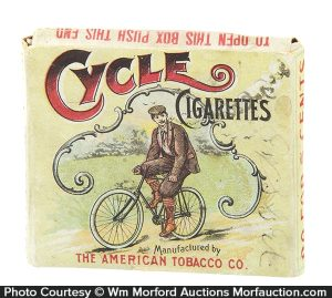 Cycle Cigarettes Box