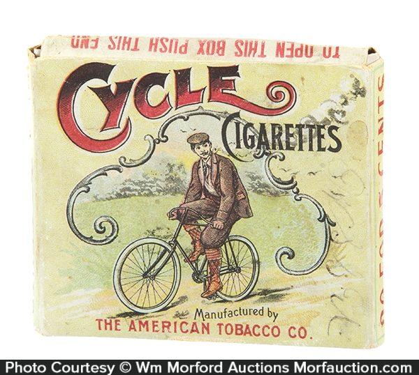 Cycle Cigarettes Box