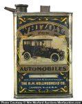 Whizoil Motor Oil Can
