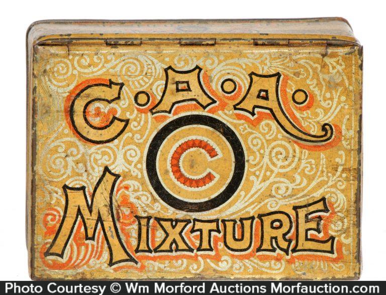 C.A.A. Mixture Tobacco Tin