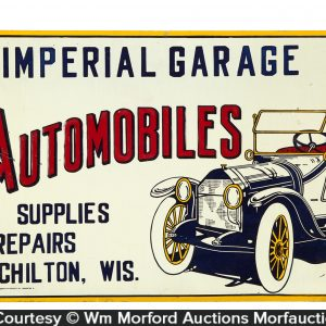 Imperial Garage Automobiles Sign